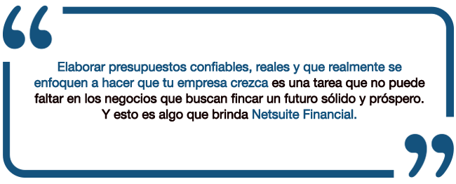 netsuite financial-quote