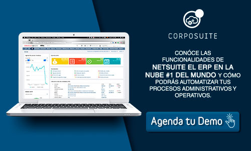 Agenda una Demo Oracle NetSuite con Corposuite