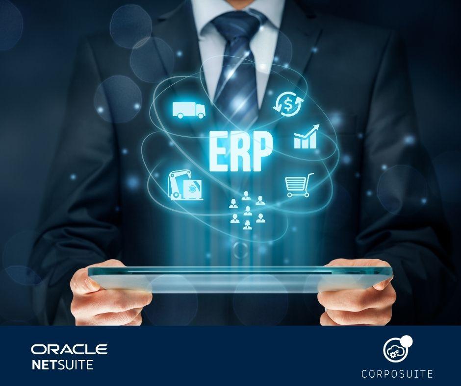 Avanza a la era digital con ERP Oracle