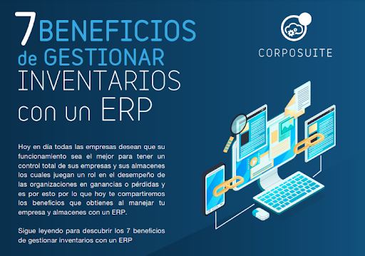 INFOGRAFIA 7 Beneficios de gestionar inventarios con un ERP