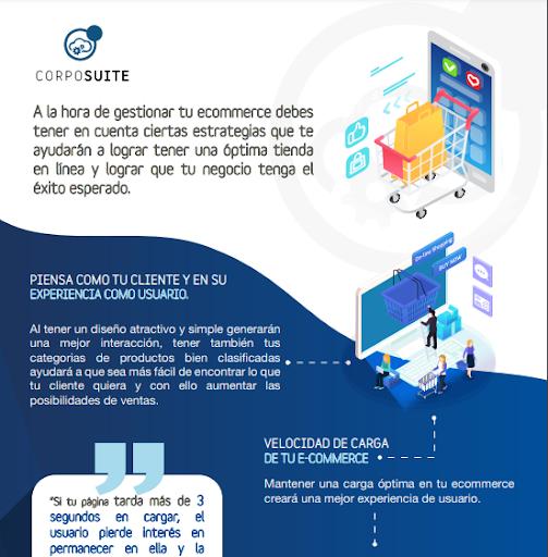 Infografia Tips para una correcta gestión de tu E-commerce